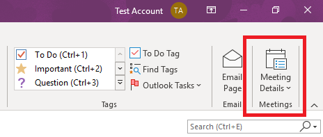 Turning OneNote items into Outlook calendar events