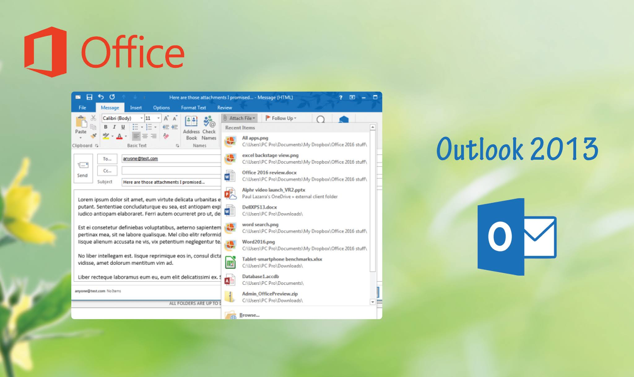 Office Outlook 2013