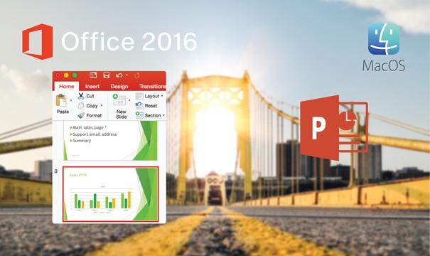Mac için PowerPoint 2016