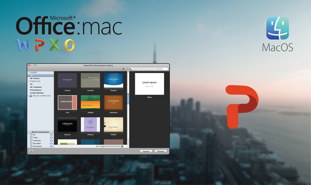 Mac için Microsoft PowerPoint 2011