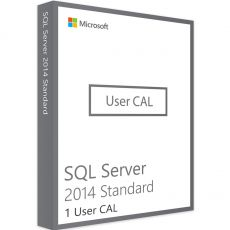 SQL Server 2014 - User CALs, Client Access Licenses: 1 CAL, image