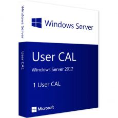 Windows Server 2012 - User CALs, Client Access Licenses: 1 CAL, image