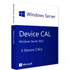 Windows Server 2012 - 5 Device CALs, Client Access Licenses: 5  CALs, image