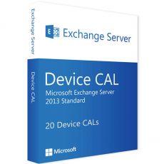 Exchange Server 2013 Standard - 20 Device CALs, Client Access Licenses: 20 CALs, image