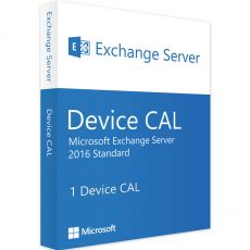 Exchange Server 2016 Standard - Device CALs, Client Access Licenses: 1 CAL, image