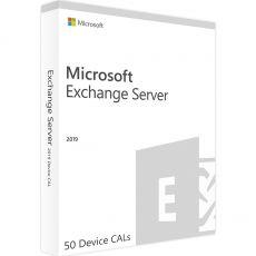 Exchange Server 2019 Standard - 50 Device CALs, Client Access Licenses: 50 CALs, image
