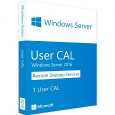 Windows Server 2016 RDS -  User CALs, Client Access Licenses: 1 CAL, image