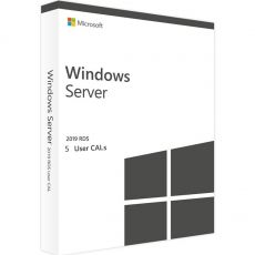 Windows Server 2019 RDS -  5 User CALs, Client Access Licenses: 5  CALs, image